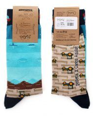 socks designed by Carlos Aquilué for peSeta