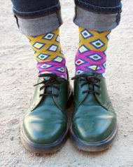 socks designed by nuria mora