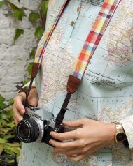 peSeta camera strap made in spain