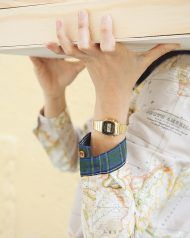 peSeta beige map woman shirt