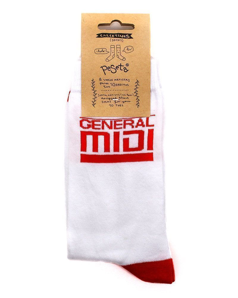original white and red socks