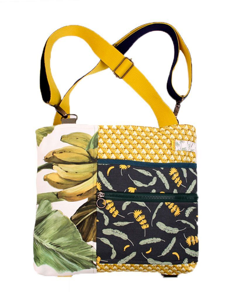colorful versatile convertible backpack bag with pattern fabrics