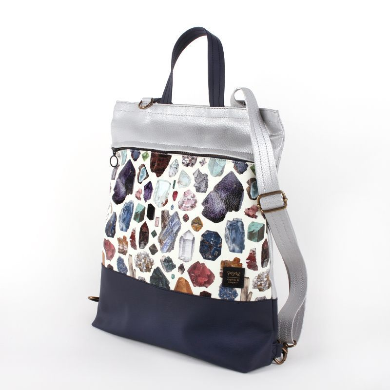 Bolso mochila convertible en bandolera slow fashion